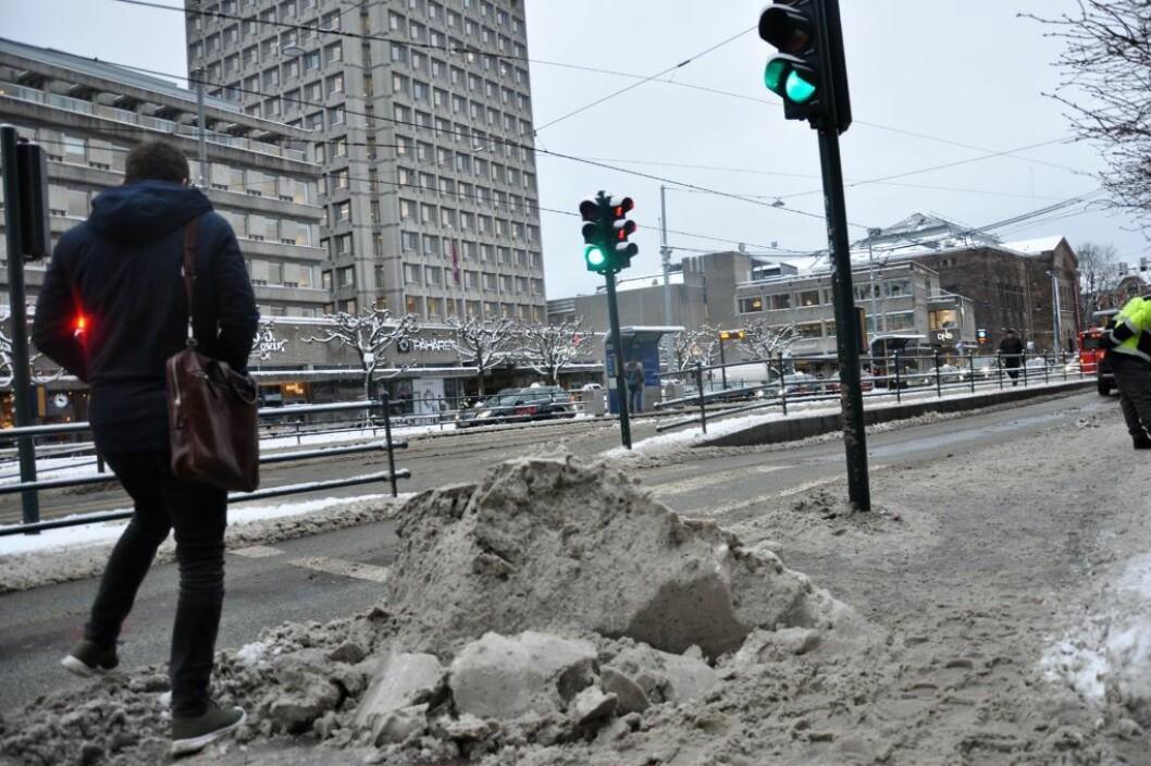 Snøen har skapt store problemer i vinter. Foto: Arnsten Linstad