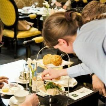 Afternoon Tea Tray er et av de mest kjøpte produktene i Perch´s tesalong. Foto: A.C Perch´s
