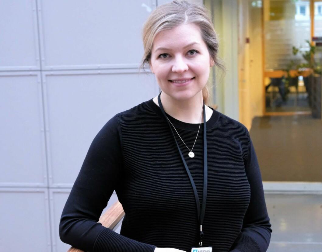 Mobbeombud i Oslo, Kjerstin Owren, mener de fleste osloskolene gjør en god jobb i kampen mot mobbing. Foto: Christian Boger