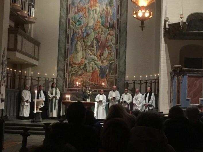 Koret i Margaretakyrkan. Foto: Kjersti Opstad