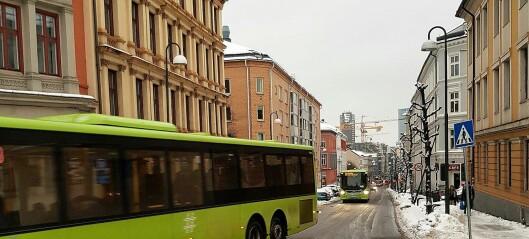 – Schweigaards gate kveles av trafikk. Opptil 47 busser dundrer gjennom gata hver time