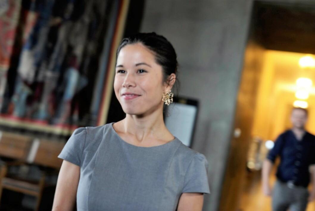 – Oslo kommune må gjøre mer for å få ned den farlige luftforurensningen, sier miljøbyråd Lan Marie Nguyen Berg. Foto: Christian Vassdal
