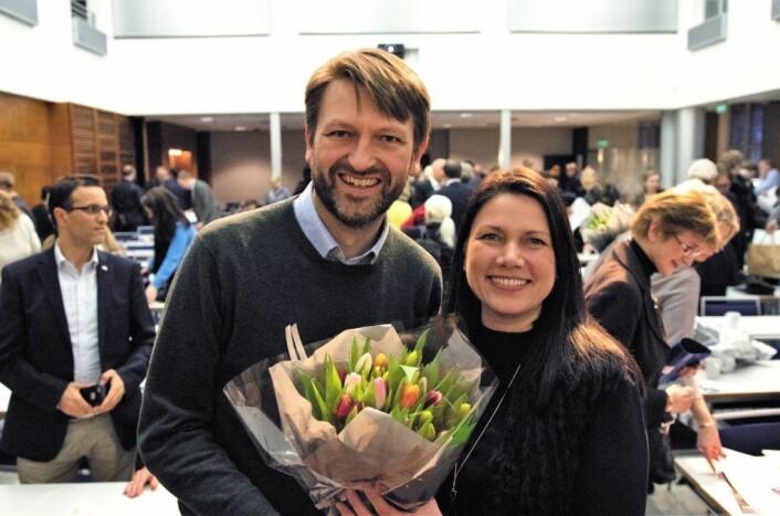 Heidi Nordby Lunde og Eirik Lae Solberg ble i dag enstemmig valgt som leder og<br /> nestleder av Oslo Høyre for de neste to årene.