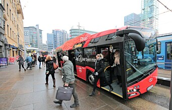 Ingen buss-streik i Oslo. Partene ble enige på overtid