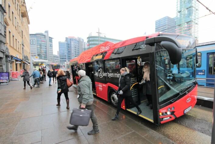 Billettprisene på buss og trikk går stadig oppover. Foto: Øystein Dahl Johansen / Ruter