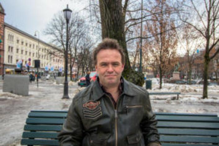 I forrige uke ble Kjell med VårtOslo på en tur rundt til gamle trakter i Oslos gater. Foto: Kyrre Songstad Seim