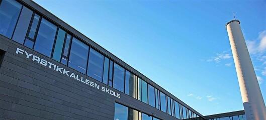 Fyrstikkalleen skole på Helsfyr ble evakuert etter at en 50x50 cm takplate falt ned
