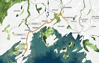 Ett skritt nærmere en t-bane fra Majorstua til Fornebu — Fornebubanen