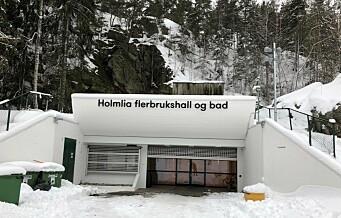 Inne i en bombesikker fjellhall, ligger trivelige Holmlia bad