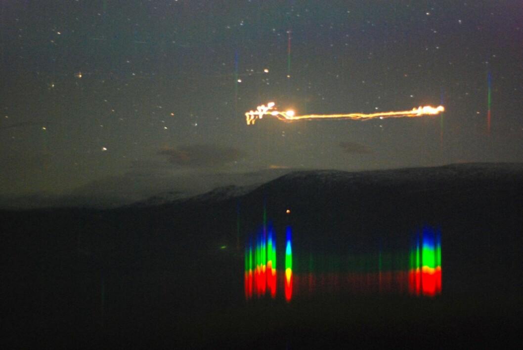UFOer har vært å se i Hessedalen, og Torshovgruppa har reist dit for å finne svar. Foto: Nationaltheatret