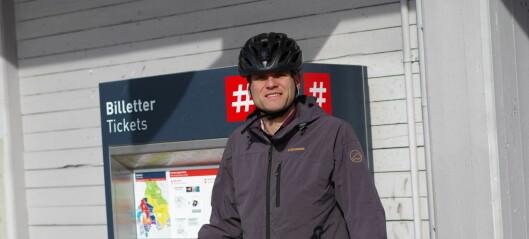 Han kan bli ny MDG-leder i Oslo og ønsker enda mer sykkelsatsing