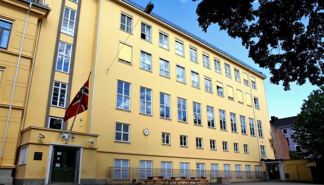 Møllergata skole er blant skolene som tidligere har kommet dårligst ut blant skoler som sliter med mobbing i Oslo.