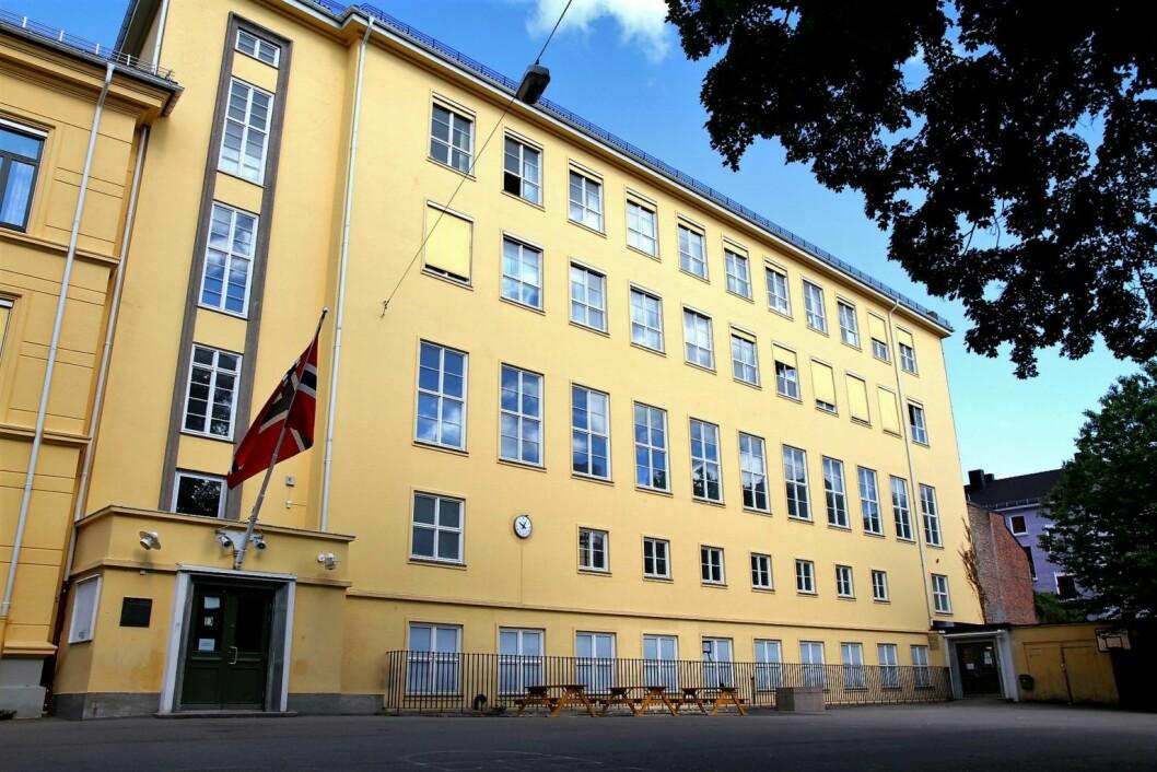 Møllergata skole er blant skolene som kommer dårligst ut i oversikten over mobbing blant skoler i Oslo. Foto: Språksenteret Osloskolen