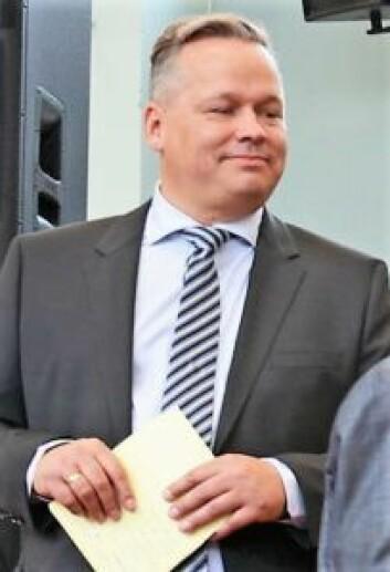 Rektor ved Møllergata skole, Alf Thomas Ringdal, betviler undersøkelsens korrekthet. Foto: Undervisningsbygg