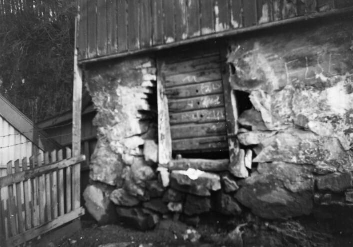 Her har boligkontrolløren fotografert en arbeiderbolig i Oslo rundt 1930. Foto: Nanna Broch / Oslo museum