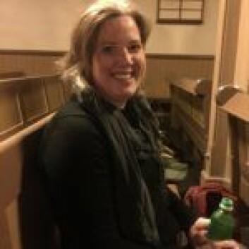 Laura Slaughter har bestemt seg for å prøve taizebønn også neste uke. Foto: Kjersti Opstad