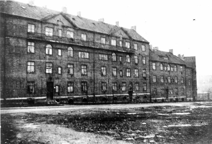 """Arbeiderboliger i Sagene. Nåværende """"Vøienvolden borettslag"""", i Stockflethsgate. Foto: Nanna Broch"""
