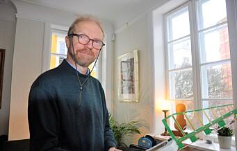 Urs Wenk-Wolff sier nei til ny, automatisk strømmåler i hjemmet sitt. 379 oslofolk har reservert seg av frykt for el-stråling