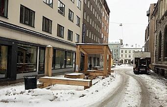 – Det skorter på viljen til å organisere gateplanet i Oslo sentrum. Jeg har mista trua og gir opp