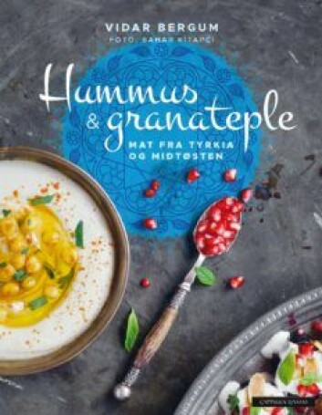 Vidar Bergum har gitt ut boken Hummus & granateple, om mat fra Midtøsten. Foto: Cappelen Damm