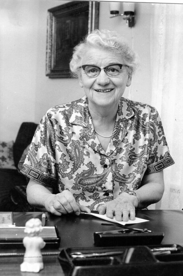 Laura Nadheim mottok Osloprisen St. Hallvard-medaljen i 1966. Hun ble kåret til en av de 100 viktigste kvinnene i VG 8. mars 2013. Foto: Kirkens Bymisjon