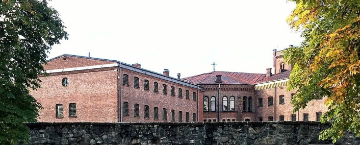 Nå har fangene flyttet fra Oslo fengsel, avdeling A, også kalt Botsefengselet. Foto: Statsbygg