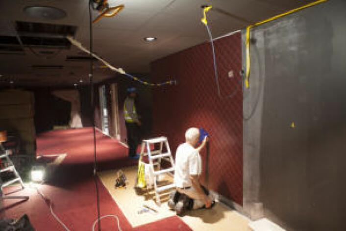 Snart kan DU vandre i disse hallene... Foto: Odeon Kino