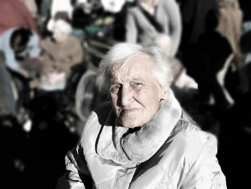 – Hvis Frp tror at mindre penger til eldreomsorg fører til bedre eldreomsorg, ja den tar feil. Foto: Pxhere