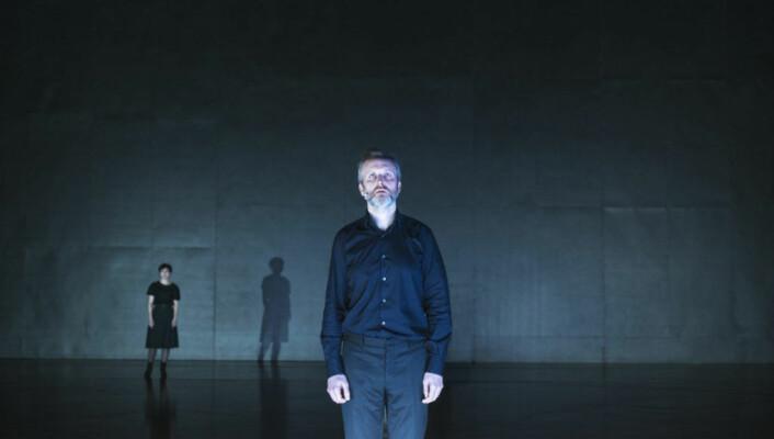 Jon Bleiklie Devik som kong Kreon. Foto: Erika Hebbert / Det Norske Teatret