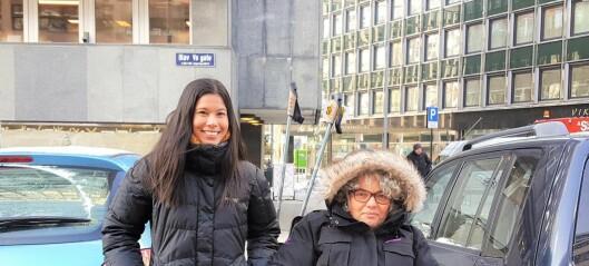 Nå vil byråd Lan Marie Berg øke antallet HC-parkeringer i sentrum