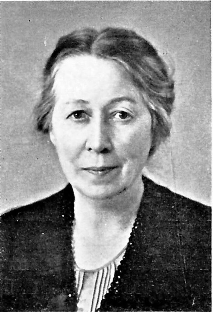 Anna Sethne. Skiltet med hennes navn skal henge i Eugenies gate 22A. Foto: Wikimedia Commons
