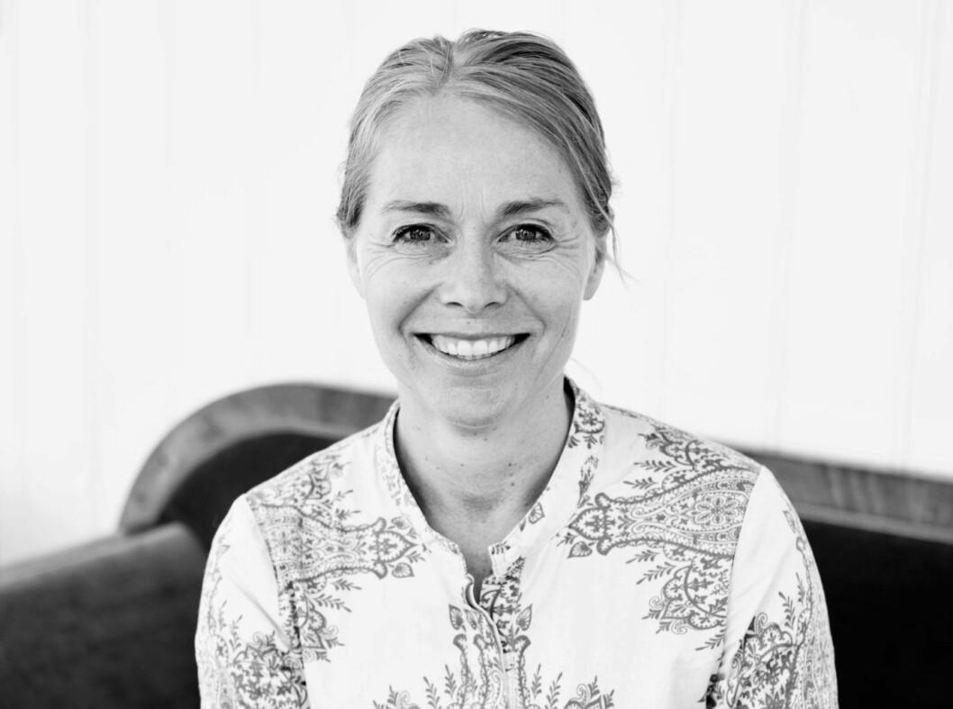 Merete Lie er ny sjef på Deichmanske hovedbibliotek i Oslo. Foto: Jorunn Tharaldsen