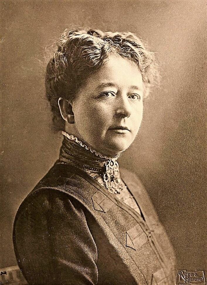 Kristine Bonnevie. Foto: Wikipedia