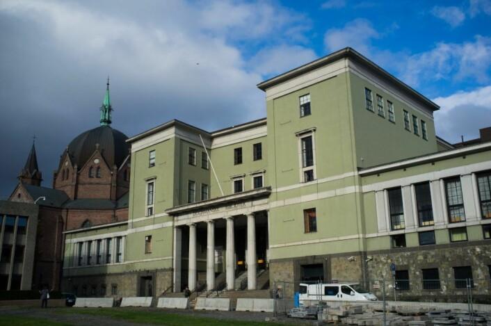 Deichmanske hovedbibliotek ligger på Hammersborg. Men i 2020 flytter biblioteket ned til Bjørvika. Foto: Kulturetaten / Frank Michaelsen