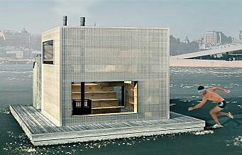 På denne nye flåta kan du snart ta badstu og bade året rundt i havnebassenget