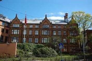 Hos Vor Frues Hospital på Hammersborg var de første sykehuset i Norge som ansatte kvinnelige leger. Sykehuset eies nå av Lovisenberg Diakonale sykehus. Foto: Wikimedia