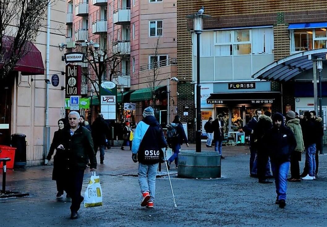 Gamle Oslo er blant bydelene i Oslo med høyest arbeidsledighet. Foto: Merethe Ruud