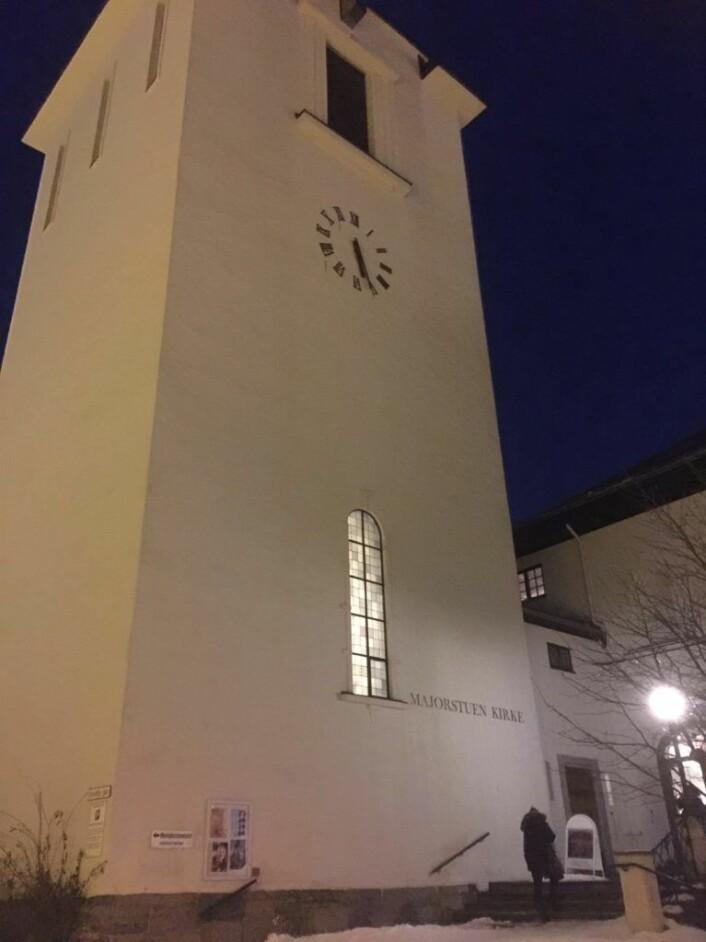 Gå inn sideinngangen til Majorstuen kirke og du kommer til Capella Johannea. Foto: Kjersti Opstad