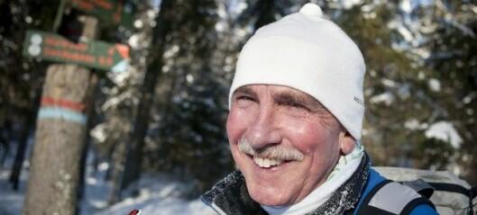 Steinar Saghaug har kjempet for Østmarka nasjonalpark i snart 50 år