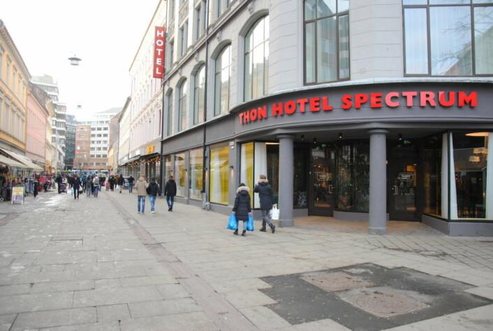 Thon hotell i Brugata. Foto: Arnsten Linstad