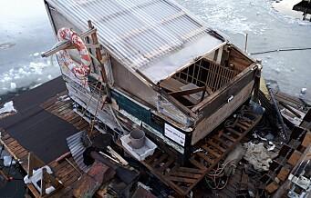 Fjordsaunaen stengt etter takbrann. Lover å gjenåpne innen påske