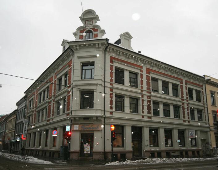 Utbyggingen av kvartalet rundt Skippergata 22 har skapt bølger mellom utvikler og vernemyndigheter. Foto: Wikimedia Commons