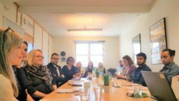 Det var godt oppmøte på møtet mellom byråd Tone Tellevik Dahl og SeFI i lokalene til bydel Gamle Oslo for et par uker siden. Foto: Tarjei Kidd Olsen