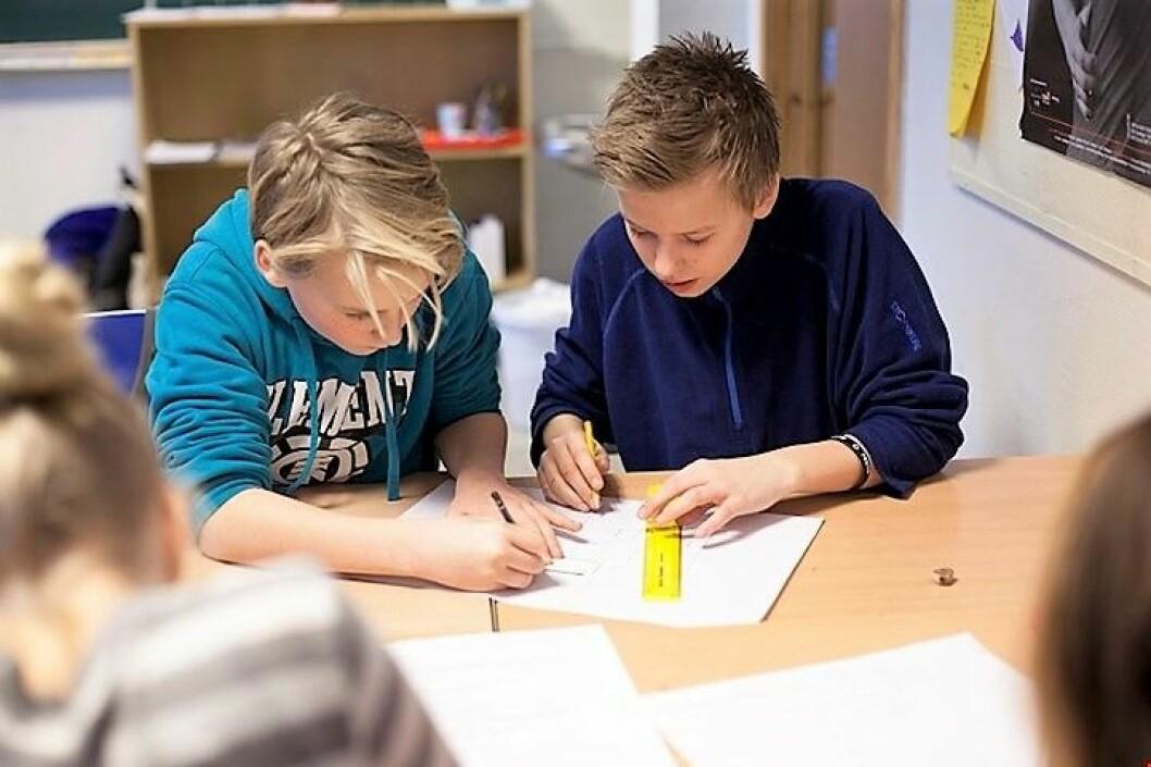 Elever ved osloskolen. Foto: Utdanningsetaten i Oslo