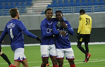 Vålerenga fotball satser på en kjerne av Oslo-gutter denne sesongen. I går var det hjemmefest på Valle