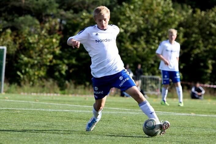 Ivan Näsberg et av de store lokale talentene på Vålerenga-laget denne sesongen.. Foto: Sotahjørnets venner.