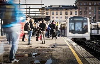 Aldri har det vært større økning i antallet kollektivreiser i Oslo