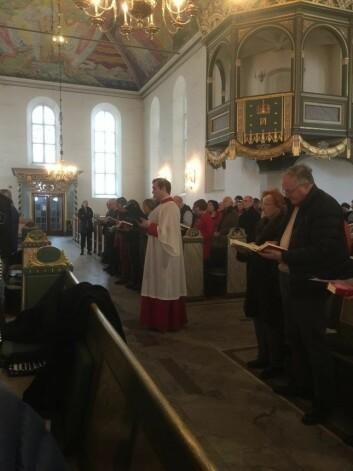 Kirkefolket har blitt radikalisert og krever endring. Foto: Kjersti Opstad