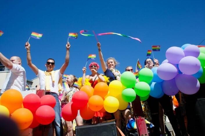 En homofil mann ble angrepet av en gjeng etter Pride-paraden. Foto: Arkiv/VårtOslo
