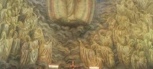 Palmesøndag i Grorud kirke: Selv om kirkens budskap var tungt og vondt denne uka, så venter gleden ved ukeslutt